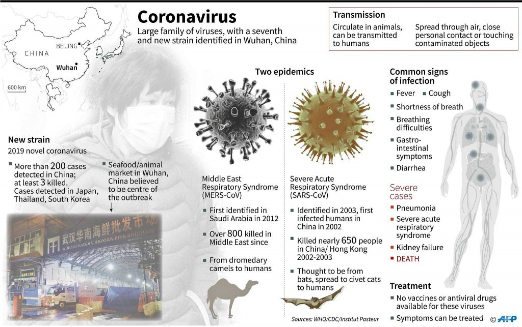 coronavirus  all you need to know about the new deadly