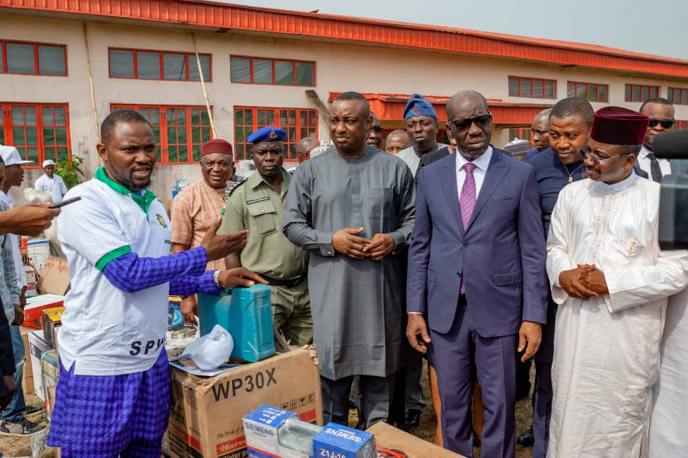 Labour minister, Festus Keyamo flags-off special public works programme in Edo