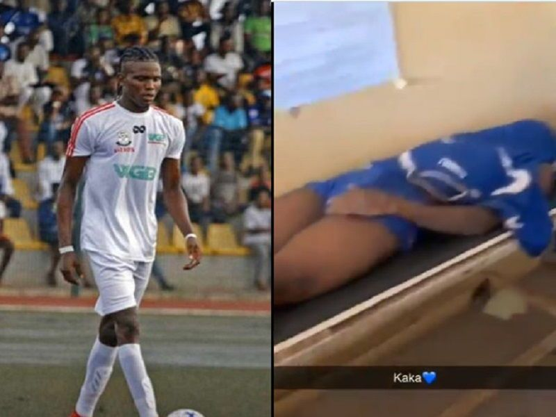 footballer allegedly killed by SARS