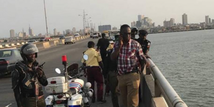 Breaking: Man jumps into Lagos Lagoon