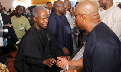 Osinbajo, Wike, other top APC, PDP leaders meet (photos)