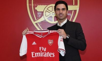 Coronavirus: Arsenal manager, Mikel Arteta tests positive