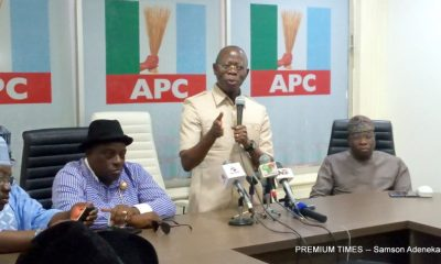 Edo 2020: Screening results stand, says APC NWC after meeting with Buhari's CoS