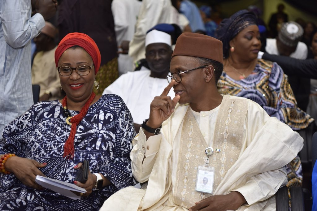 COVID-19: Please, pray for my husband, El-Rufai's wife begs Nigerians
