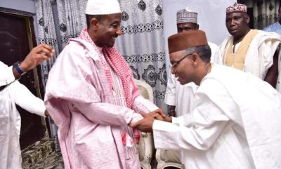 BREAKING: El-Rufai arrives Awe, meets deposed Emir Sanusi (PHOTOS)