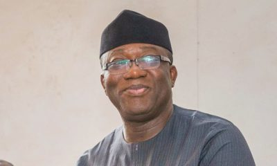 BREAKING: Gov. Fayemi tests positive for COVID-19