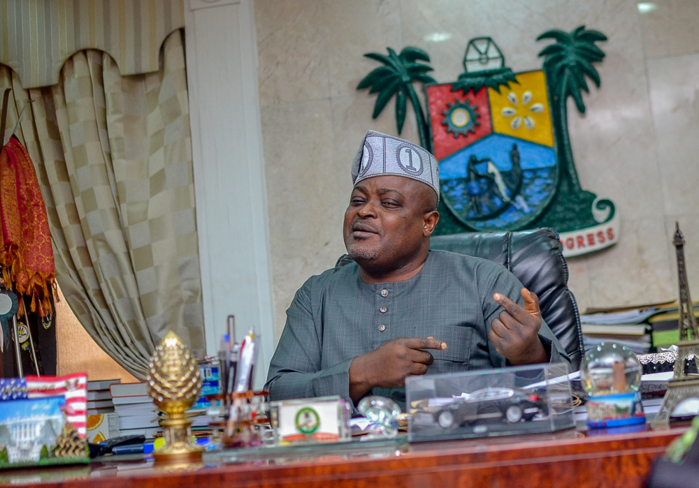 Embattled Lagos Speaker, Obasa recalls suspended lawmakers amid corruption allegations