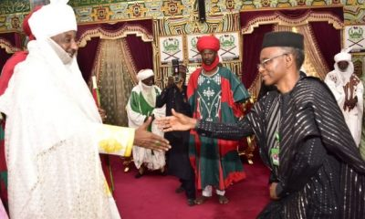BREAKING: Gov. El-Rufai en-route Awe to visit Sanusi