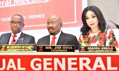 Zenith Bank fetes shareholders with dividend payout of N87.9b