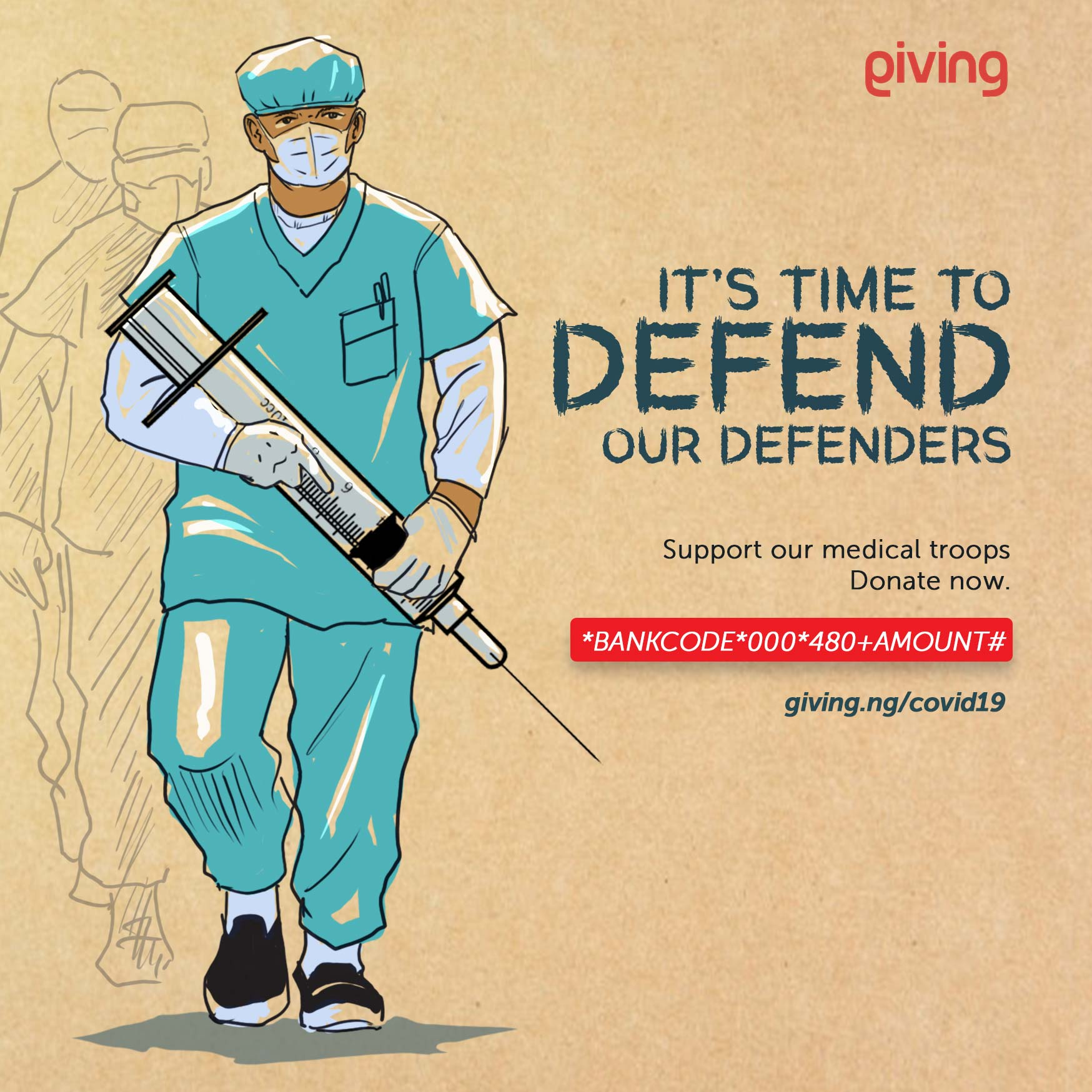 Giving.ng embarks on fundraising to support health workers tackling COVID-19