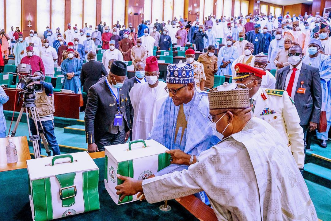 Breakdown of Buhari's N13.08trn 2021 budget proposal
