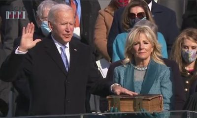 BREAKING: IT'S OFFICIAL! Joe Biden sworn in as 46th US president