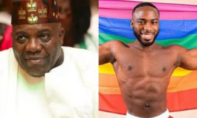 'I know it'll end in praise' -Ex-presidential spokesman, Doyin Okupe laments as son declares he's gay