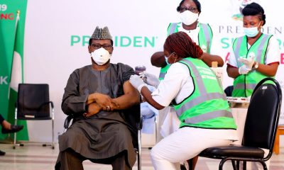 8,000 Nigerians have received COVID-19 vaccine - PTF