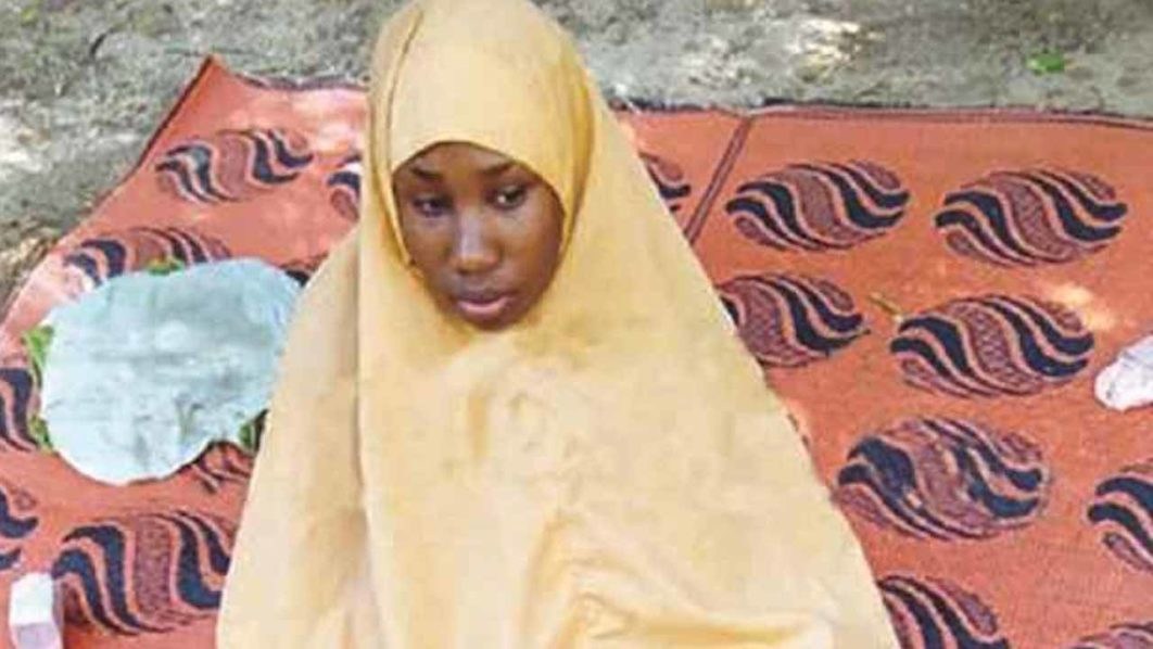JUST IN: Leah Sharibu gives birth to second baby in B/Haram captivity