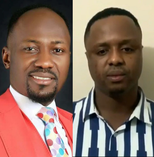 Adultery Allegation: Mike Davids begs Apostle Suleman for forgiveness (VIDEO)