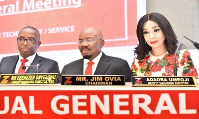 Zenith Bank fetes shareholders with dividend payout of N94.19bn