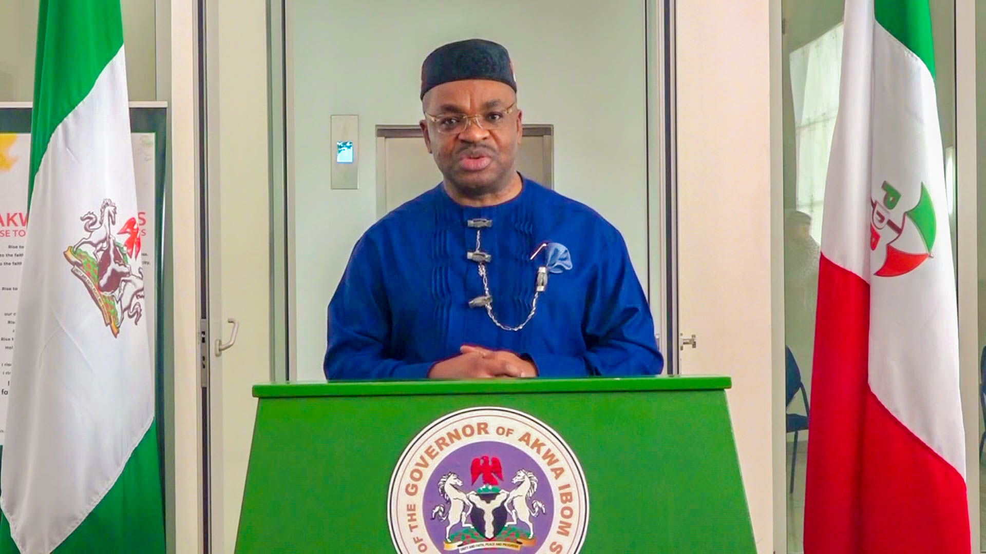 Akwa Ibom governor says he's not joining APC, sponsors of rumour exposed