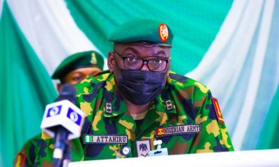 Army announces burial for late COAS Attahiru, six others