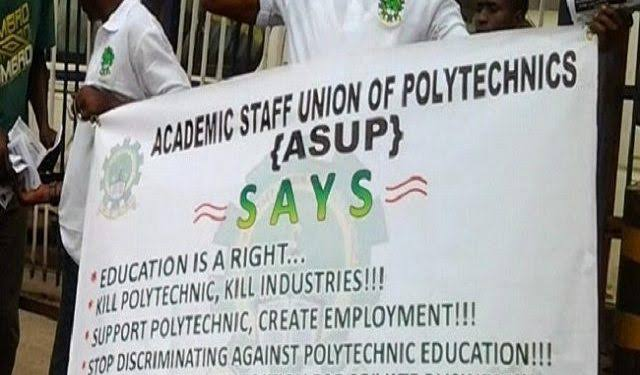 Polytechnic lecturers suspend 65-day-old strike