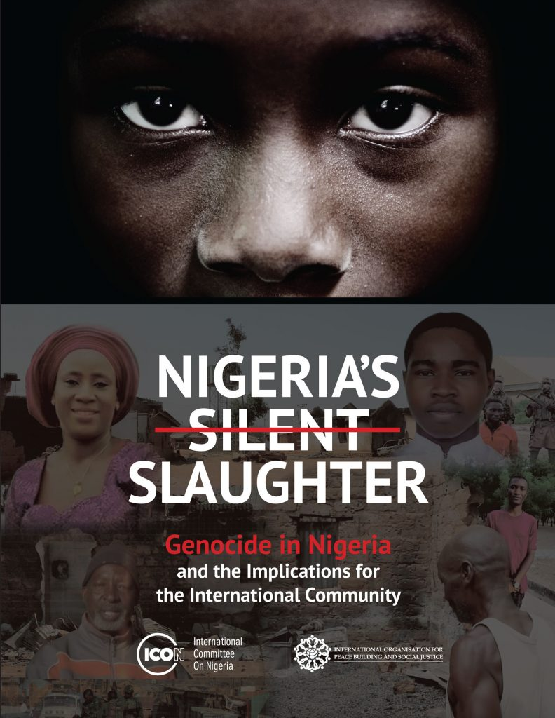 ICON, PSJ release report on genocide, religious persecution in Nigeria