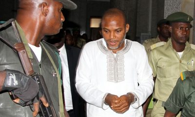 BREAKING: Lawyer visits Nnamdi Kanu in DSS custody, narrates how, where he was arrested