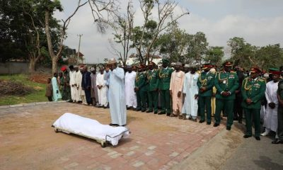 Army General, Hussein Ahmed, murdered in Abuja laid to rest [PHOTOS]